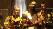 Snoop Dog sets off hotel fire alarm, chills with firefighters