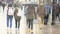 Yellow rainfall warning in place for five counties as rain sweeps country