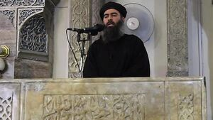 Video 'shows ISIS leader in Iraq'