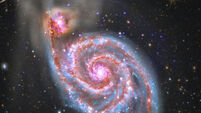 Galaxy-eater: NASA photo shows entire galaxy being consumed