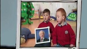 Irish kids have absolutely no idea who President Michael D. Higgins is