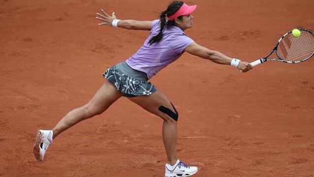 Li crashes out of French Open first round