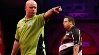 MVG hammers Lewis to reach final
