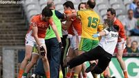 Donegal scrape past Armagh in fractious Croke Park encounter