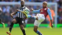 Newcastle come away from Villa Park with a point