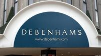 Debenhams finance boss quits