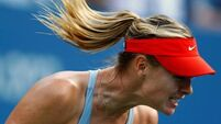 Sharapova tested as Radwanska falls