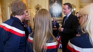 Paralympian challenges Cameron over compo during Downing St reception