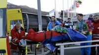 Bobsleigh accident leaves Sochi worker in hospital
