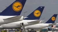 UK stocks slip after Lufthansa warning