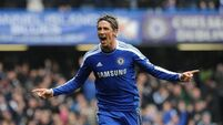 Torres replaces Eto'o; Ireland reutrns for Stoke