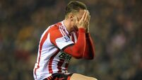Sunderland fall to Hammers at home