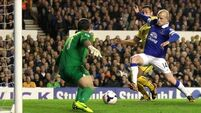 Everton setback at hands of Palace