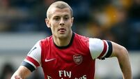 Wilshere takes time away from Gunners with foot injury