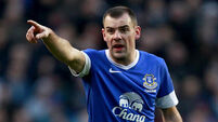 Gibson nearing return for Everton