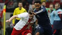 Brown strike gives Scots victory in Poland