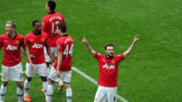 Mata shines as United dispatch Toon