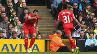 Liverpool five points clear, as Toffees triumph over Moyes