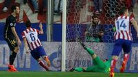 Brave Atletico dump Barcelona out of the Champions League