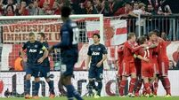 Bayern power past United into the semis