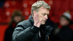 Moyes: United were unlucky