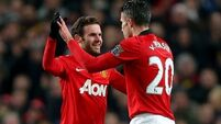 Big three in for United; McGeady starts for Everton