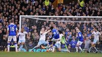 Fit-again Lukaku's late strike saves Toffees