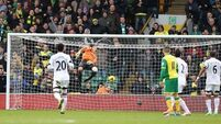 Hooper saves point for Hughton's Norwich