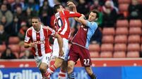 Stoke climb into top half with victory over Villa