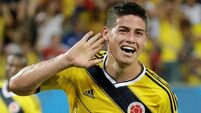 Colombia win sets up last-16 clash with South American rivals