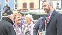 On the Canvass: Like father like son as O'Sullivan presses the flesh with constituents