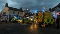 Teen airlifted to hospital following two-hour operation to free him from underneath bus