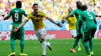 Colombia stay on track to progress