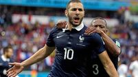 France ease past Honduras as goal-line technology works its magic