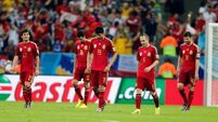 Chile con carnage - reigning champions Spain dumped out of World Cup