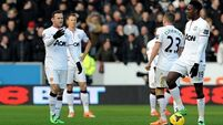 No Rooney for United as City make six changes for Palace game