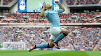 Aguero back as City look to wrap up title
