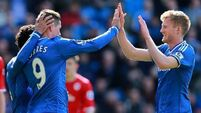 Chelsea finish with scrappy win