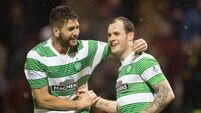 Stokes on the scoresheet as Hoops rout Motherwell