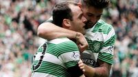 Stokes scores as Celtic win third SPL trophy in a row