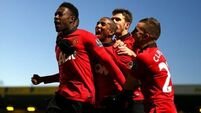 United overcome determined Canaries at Carrow Road