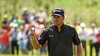 McDowell chasing the lead after McIlroy exit
