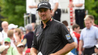 McDowell storms into Irish Open contention with McIlroy missing the cut