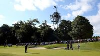 Golfers tee off for Day Two at Fota
