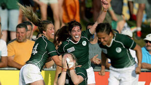 Ireland's Women's Rugby team beat world champions to top group