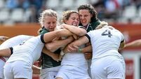 England knock Ireland out of Women's Rugby World Cup