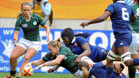 Ireland come close in tough contest for third place