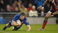 O'Driscoll try disappoints Munster men