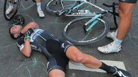 Injured Cavendish 'devastated' by Tour de France exit