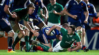 Late scores hand U20s Grand Slam to France